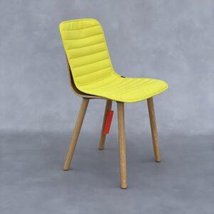 Vitra Hal Ply Wood stoel met kussen Stoelen Design Meubels Tweedehands Nieuw