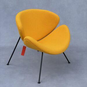 Artifort Orange Slice F437 Fauteuil hoog oranje Stof Fauteuils Design Meubels Tweedehands Nieuw