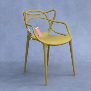 Kartell Masters stoel mosterdgeel Stoelen Design Meubels Tweedehands Nieuw