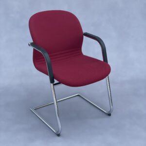 Wilkhahn 232 Bureaustoel Bordeauxrood Stof Bureaustoelen Design Meubels Tweedehands Nieuw