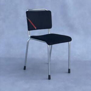 Gispen 106 Stoel Zwart Stof Stoelen Design Meubels Tweedehands Nieuw