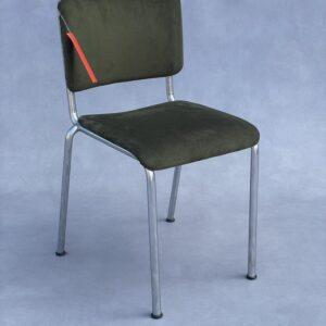 Gispen 106 Stoel Groen Stof Stoelen Design Meubels Tweedehands Nieuw
