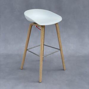 HAY About A Stool AAS 32 Kruk Wit Kunststof Krukken Design Meubels Tweedehands Nieuw