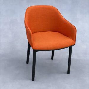 Vitra Softshell Stoel Oranje Stof Stoelen Design Meubels Tweedehands Nieuw