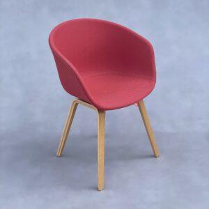 HAY About A Chair AAC 23 Stoel Fuchsia Stof Stoelen Design Meubels Tweedehands Nieuw
