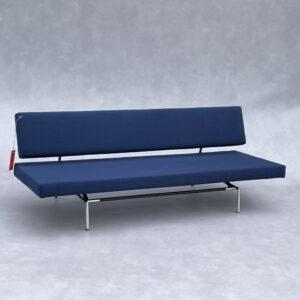 Spectrum BR 02 (Slaap bank Blauwe Stof) Banken Design Meubels Tweedehands Nieuw