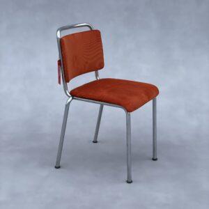 Gispen 106 Stoel Oranje Stof Stoelen Design Meubels Tweedehands Nieuw