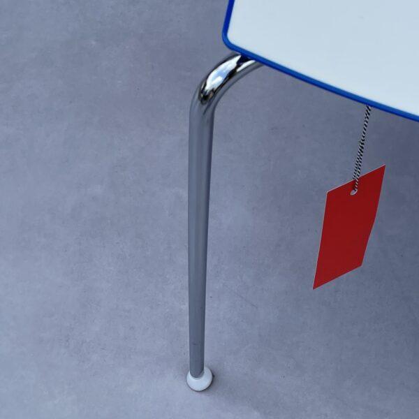 Arper Catifa 46 0251 Stoel Wit/Blauw Kunststof Stoelen Design Meubels Tweedehands Nieuw
