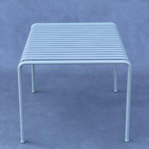Hay – Palissade Vierkante tafel Lichtgrijs Tuin en Terras / Tuinmeubelen Design Meubels Tweedehands Nieuw
