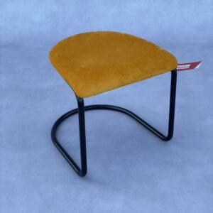 Gispen 412 Hocker Geel met zwart frame Hocker Design Meubels Tweedehands Nieuw