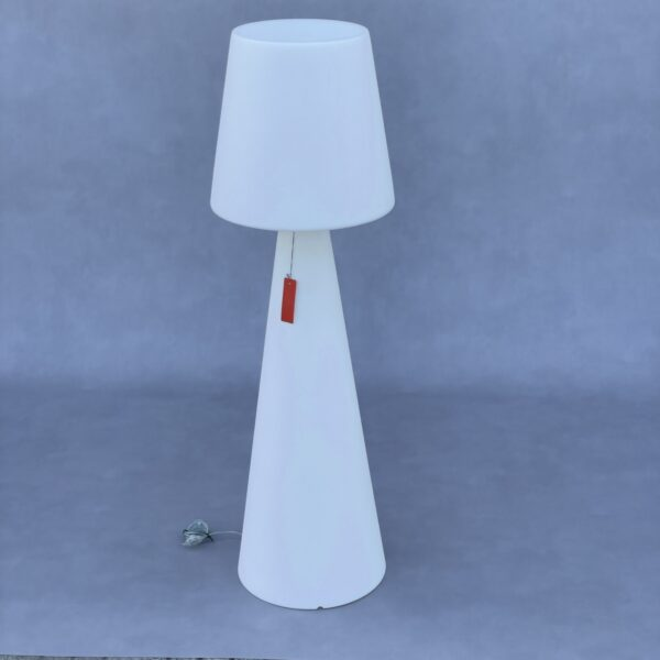 Slide Vloerlamp Pivot Outdoor Wit/Wit Verlichting Design Meubels Tweedehands Nieuw