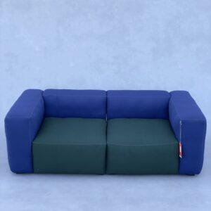 Hay Mags Soft design 2 zits Blauw/Groen Banken Design Meubels Tweedehands Nieuw