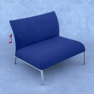 Montis Dandy Fauteuil Blauw Stof Fauteuils Design Meubels Tweedehands Nieuw